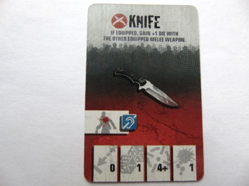 survivor equipment card (knife)